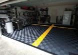 Garage Floor With Epoxy Flake Polyurea