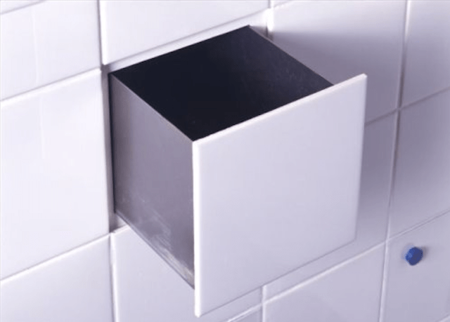 Hidden Compartment In Bathroom Tile