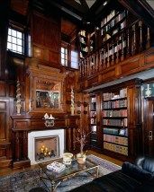 Home Library Design Ideas (47)