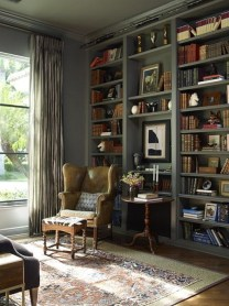 Home Library Design Ideas (52)