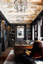 Home Library Design Ideas (56)