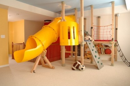 Indoor (basement) Playground