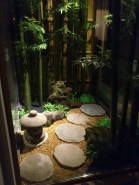 Japanese Oriental Style Garden For Beautiful And Charming Indoor Garden Design