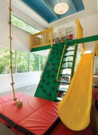 Swing for Creative Ideas for Playground Area at Home