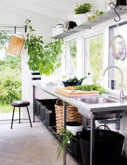 Kitchen In Natural Style And Beauty Home Interior Design By Agneta Enzell