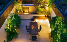 Lighting For Awsome Design Ideas Of Garden House