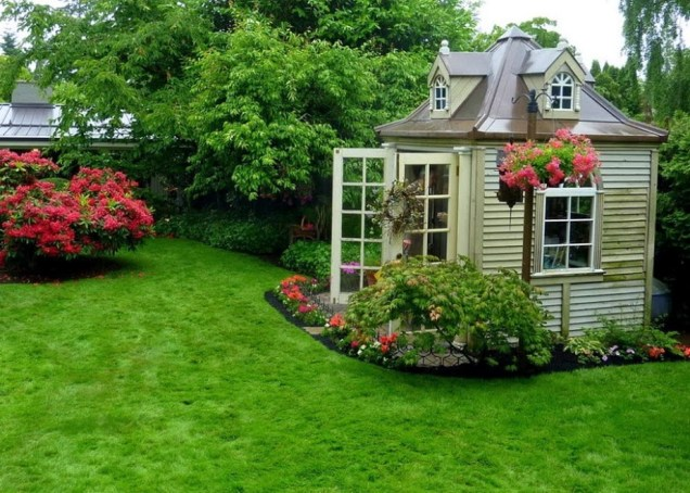 Natural Color For Awsome Design Ideas Of Garden House