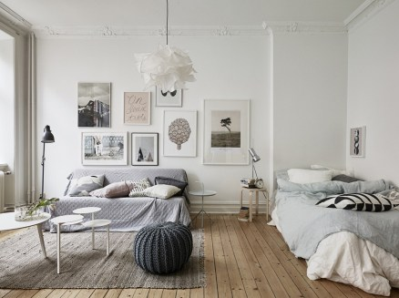 Natural Style In A Small Apartement Design Ideas