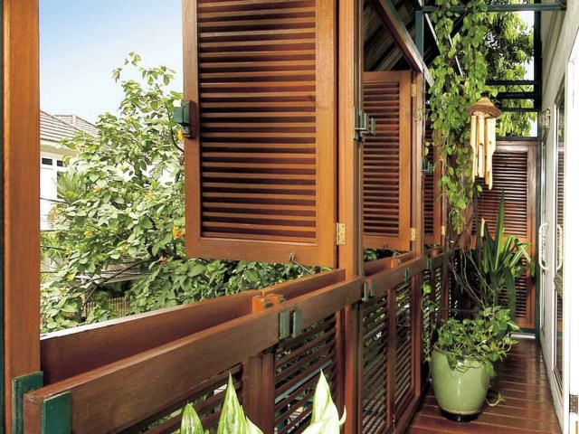Natural Theme Balcony Design Ideas Connected With Bedroom