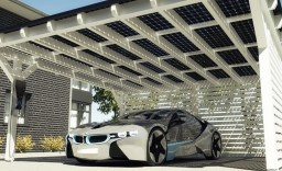 One Car Garage With Solar Roof