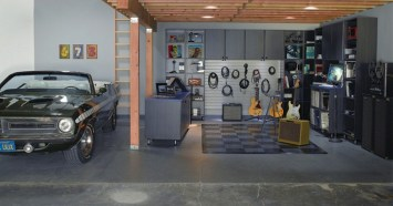 Private Music Studio At Home Garage