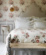Romantic Bedroom Ideas Floral Wallpaper