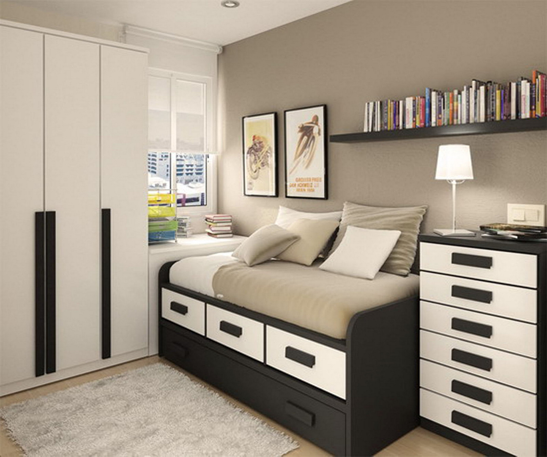 Storage Solutions For Small Spaces Drawer For Bedroom Design With Narrow Space Architecturein