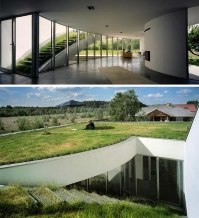 Underground House in Lower Silesia, Poland for Underground Home Designs