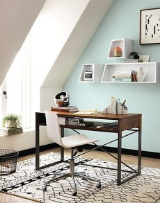 Unique And Comfortable Home Office Design Ideas (147)
