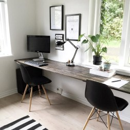 Unique And Comfortable Home Office Design Ideas (163)