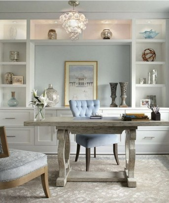 Unique And Comfortable Home Office Design Ideas (193)