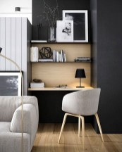 Unique And Comfortable Home Office Design Ideas (31)