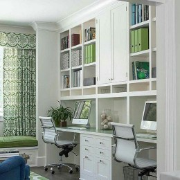 Unique And Comfortable Home Office Design Ideas (40)