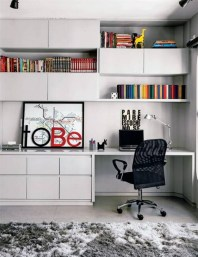 Unique And Comfortable Home Office Design Ideas (88)