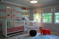 Colored Objects for Creative Ideas for a Beautiful and Unique Baby Room Design