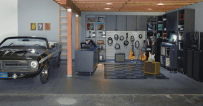Garage for Private Music Studio at Home
