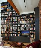Rooftop Rack for Unique Library at Home