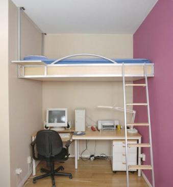 Bunk Bed for Bedroom Design Ideas with Narrow Space