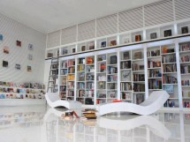 Unique Library Wall Bookshelf Designs