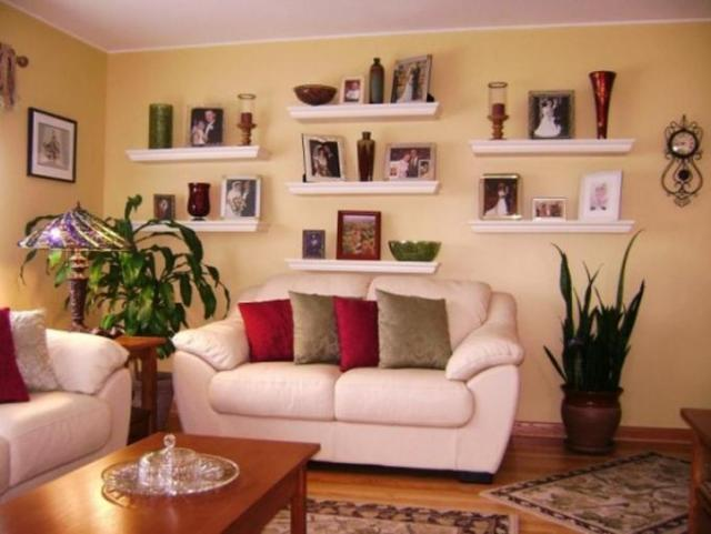 Accessories for Inspiration Wall Gallery for Exciting Living Room