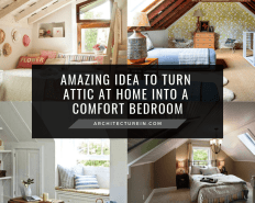 Amazing Idea To Turn Attic At Home Into A Comfort Bedroom Featured