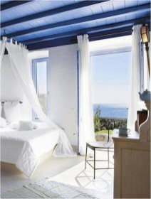 Blue Cobalt Mediterranean Bedroom Ideas