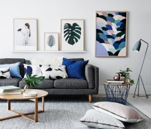 Display For Instagramable Living Room
