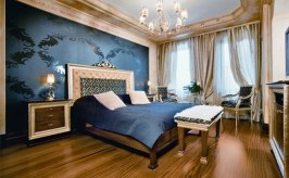 French Style for Comfortable Mediterranean Style Bedroom
