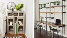 Furniture and Ornaments for Awesome Industrial Bedroom Inspiration