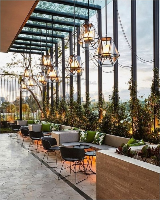 Glass Wall Restaurant Ideas