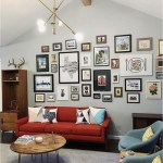 Grouping Wall Gallery In Living Room