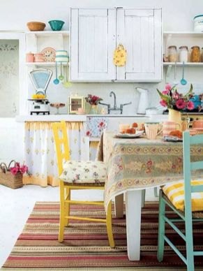 Kitchen for Shabby Chic Style Minimalist Home Inspiration