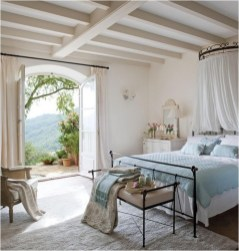 Large Door Mediterranean Bedroom Ideas