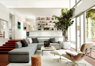 Living Room Natural Light Modern Contemporary