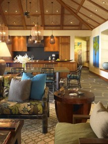 Luxury Open Plan Ideas For Balinese Dining Room Remodeling