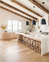 Marble And Wood Rustic Kitchen