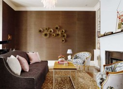 Metallic Accents for Instagramable Guest Room