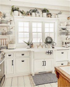 Modern Shabby Chic Winter Kitchen