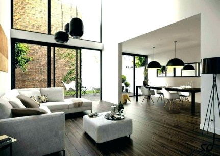 Modern Open Plan Kitchen Dining Living Room Interior Style From Grand Design Architectures