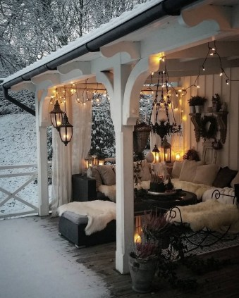 Nice Ideas For Changing Terrace Into Closed Living Room (3)