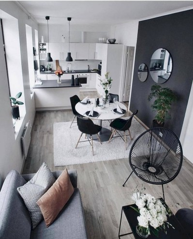 Open Concept Kitchen Dining Room