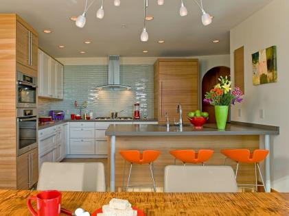 Pumpy Colors for Elegant Brown Minimalist Kitchen Decorating Ideas