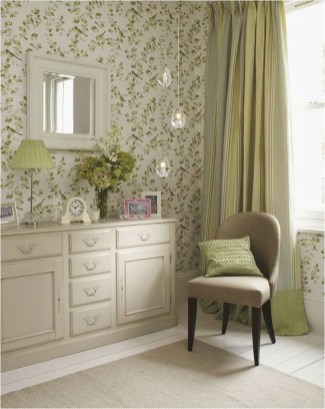 Shabby Chic Wallpaper Home Decorations