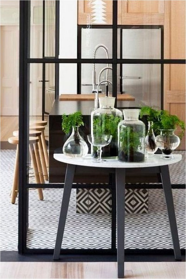 Steel Table Rustic